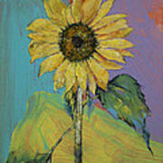 Sunflower Art Print by Michael Creese