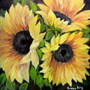 Sunflowers 3 Art Print