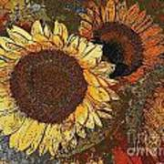 Sunflowers 397-08-13 Marucii Art Print