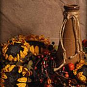 Sunflowers And Vase Art Print