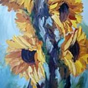 Sunflowers II Art Print