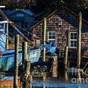 Shem Creek Life Art Print