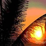 Sunlight - Ile De La Reunion - Reunion Island Art Print