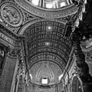 Sunlight In St. Peter's Art Print