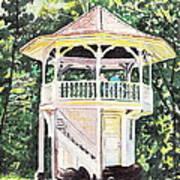 Sunlit Memories Art Print