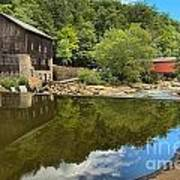 Sunny Days At Mcconnells Mill Art Print