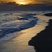 Sunrays Over The Sea Art Print