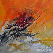 Sunrise - Abstract Art Print