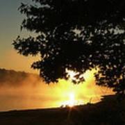 Sunrise At Lake Lanier 006 Art Print