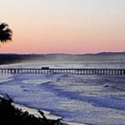 Sunrise At Pismo Beach Art Print