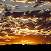 Sunrise At Spirit Lake Sanctuary 20140710 0604 Art Print