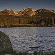 Sunrise At Spraque Lake Art Print by Tom Wilbert