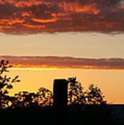 Sunrise At Thornhill Art Print