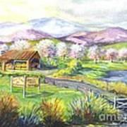 Sunrise Farm Stand Art Print