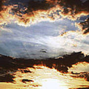 Sunrise Heaven Art Print