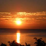 Sunrise In The Bahamas Art Print