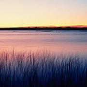 Sunrise Lake Michigan Wi Usa Art Print