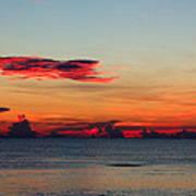 Sunrise On A Cloudy Morn Art Print