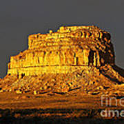 Sunrise On Fajada Butte Art Print