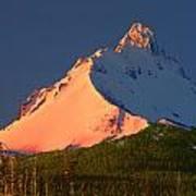 1m5306-sunrise On Mt. Washington Art Print