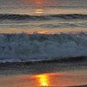 Sunrise On The Atlantic 2 Art Print