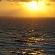 Sunrise On The Gulf Art Print by Barbara Shallue