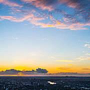 Sunrise On The Horizon Art Print