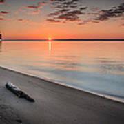 Sunrise On The Potomac Art Print