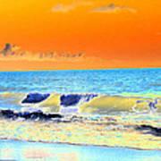 Sunrise On Tybee Island - Photopower 168 Art Print