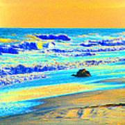 Sunrise On Tybee Island - Photopower 169 Art Print