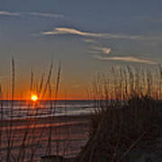 Sunrise Outer Banks Norht Carolina Img_3721 Art Print
