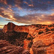Sunrise Over Canyonlands Art Print by Darren  White