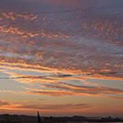 Sunrise Over Lake Manistee Art Print