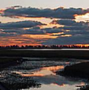 Sunrise Over Point Pelee Provincial Park Art Print