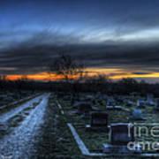 Sunrise Over The Grave Art Print