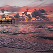 Sunrise Panoramic Art Print by Adam Romanowicz