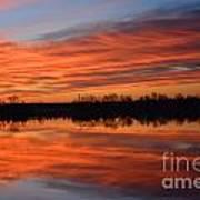 Sunrise Reflections Art Print