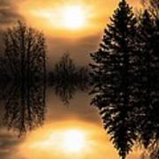Sunrise-sundown Art Print