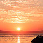 Sunrise - Sunset Art Print