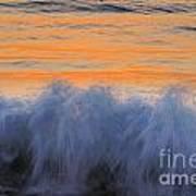 Sunrise Wave Art Print