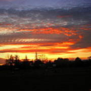 Sunset 02 28 13 Art Print