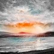 Sunset 111 Art Print