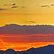 Sunset 20130926 Art Print