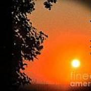 Sunset 365 18 Art Print