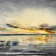 Sunset 384 Panoramic Art Print
