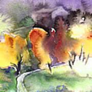Sunset 49 Art Print