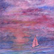 Sunset Adventure Art Print