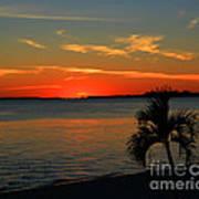Sunset Afterglow Art Print