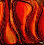 Sunset Amber Art Print