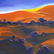 Sunset And Shadow Art Print
